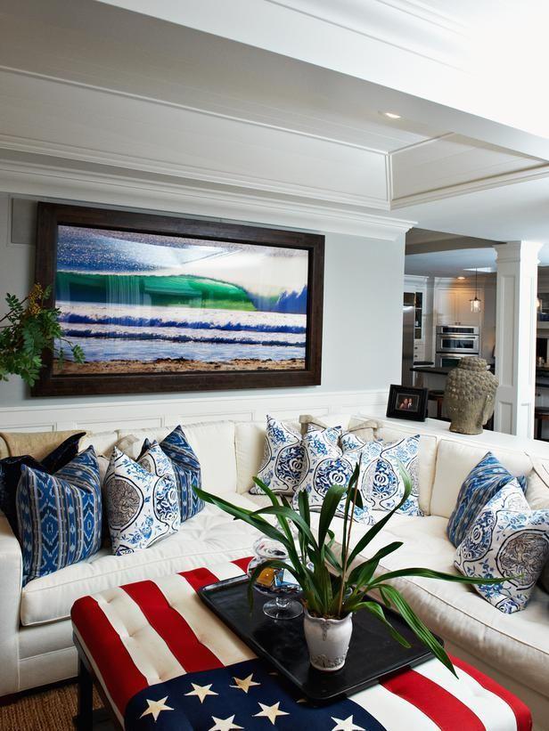 Transitional living rooms kari arendsen designers  portfolio hgtv home garden television transitionaldecorinteriordesign also rh pinterest