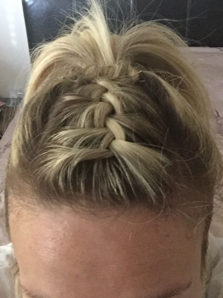 Mini French Braid Into A Ponytail French Braid Hairstyles
