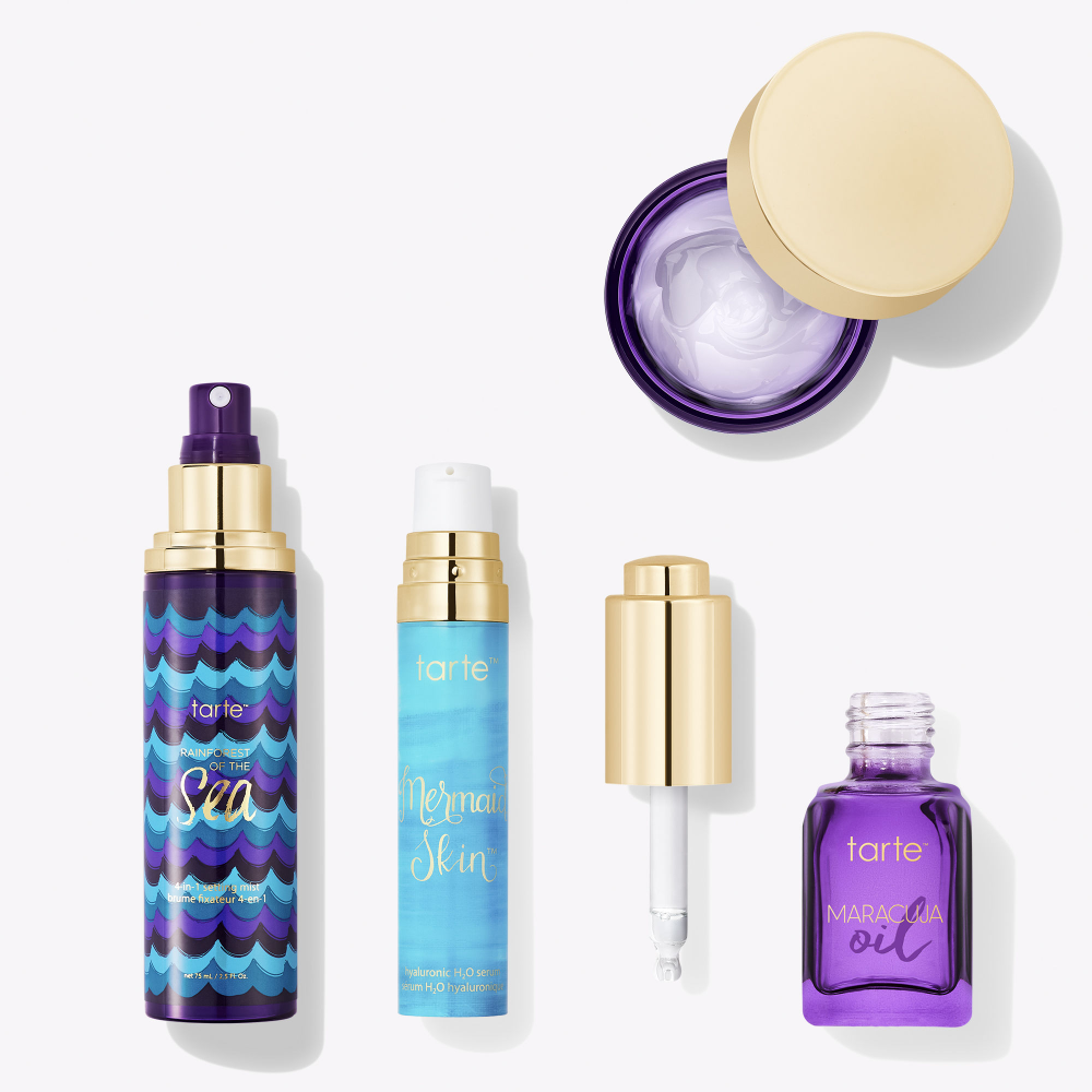 tarte's Ateam skincare set Skincare set, Beauty hacks