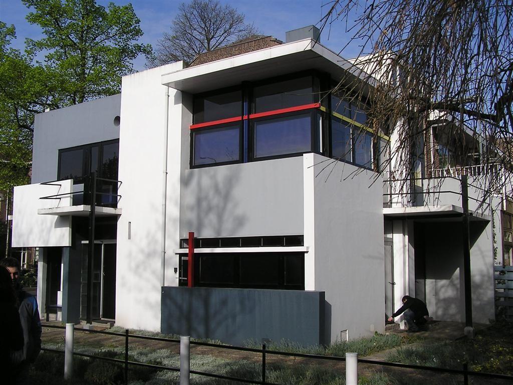 Maison schroder par rietveld utrecht de stijl pinterest utrecht et de stijl - Maison s par domenack arquitectos ...