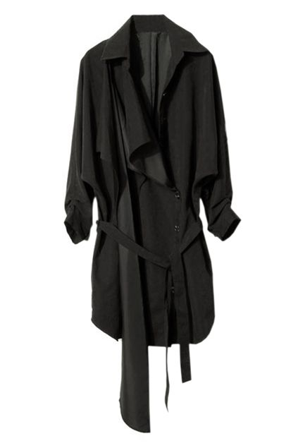 Occident Style Black Trench Coat £87.95
