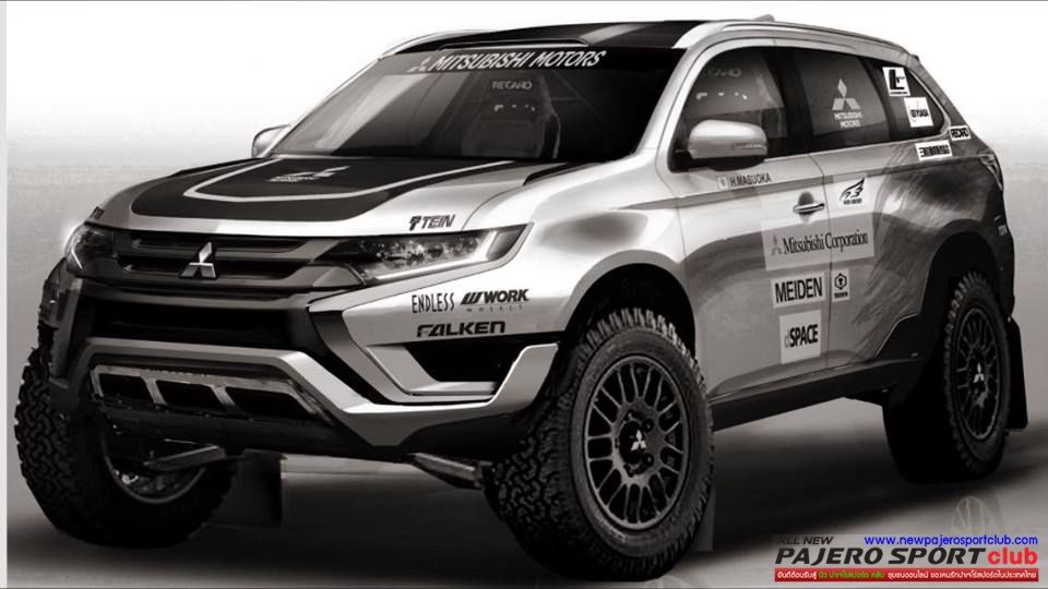 มาแล้ว All New Pajero Sport แนว Offroad - มุมแต่งรถ All New
