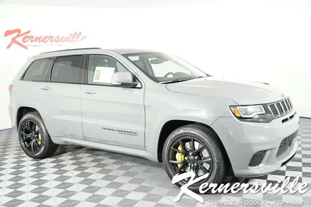 For Sale 2019 Jeep Grand Cherokee Trackhawk 4wd Suv Backup Camera Panoramic Sunroof Heat New 2019 Jeep Grand Cherokee Trackhawk 4wd Suv