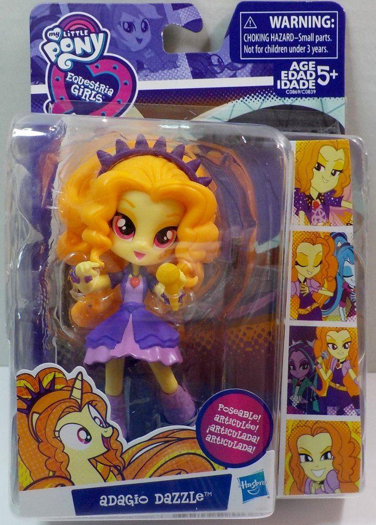 Adagio Dazzle Figure My Little Pony New Equestria Girls Minis