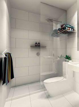 Wonderful Resultado De Imagen Para Small Bathroom With Big Tiles