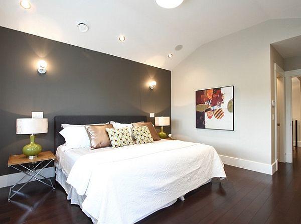 40 Bedroom Accent Walls Gray Accent Wall Bedroom Bedroom Wall Colors Master Bedroom Colors