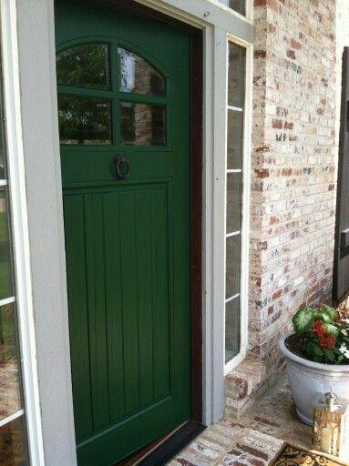 Hunter Green Door | For the Home | Pinterest | Barking F.C., Linens ...
