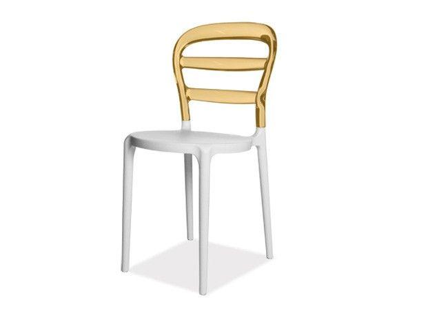 Senso Chaise Polycarbonate Bicolore Design