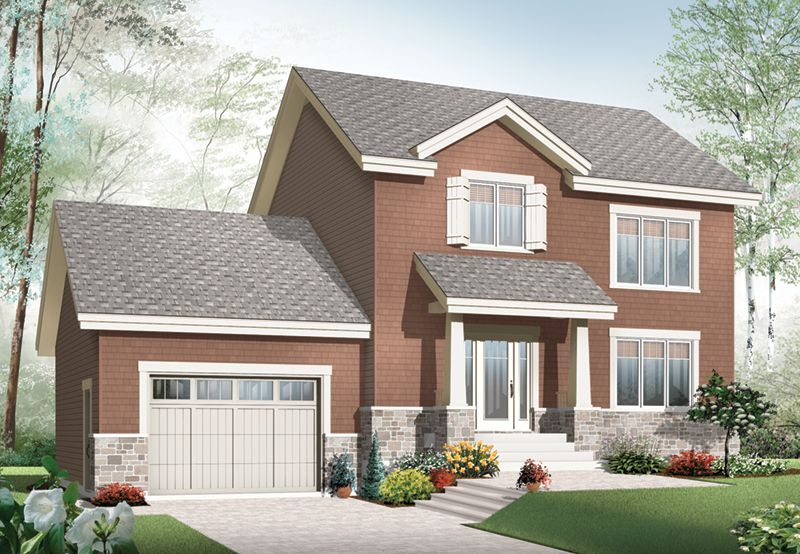 Marlowe Front 01 from houseplansandmore