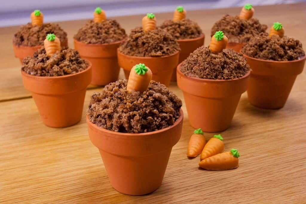 Ostermuffins im Töpfchen - einfache Backidee zu Ostern