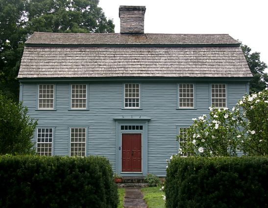 Glebe House, Woodbury CT - same town where the Hurd House is located ...