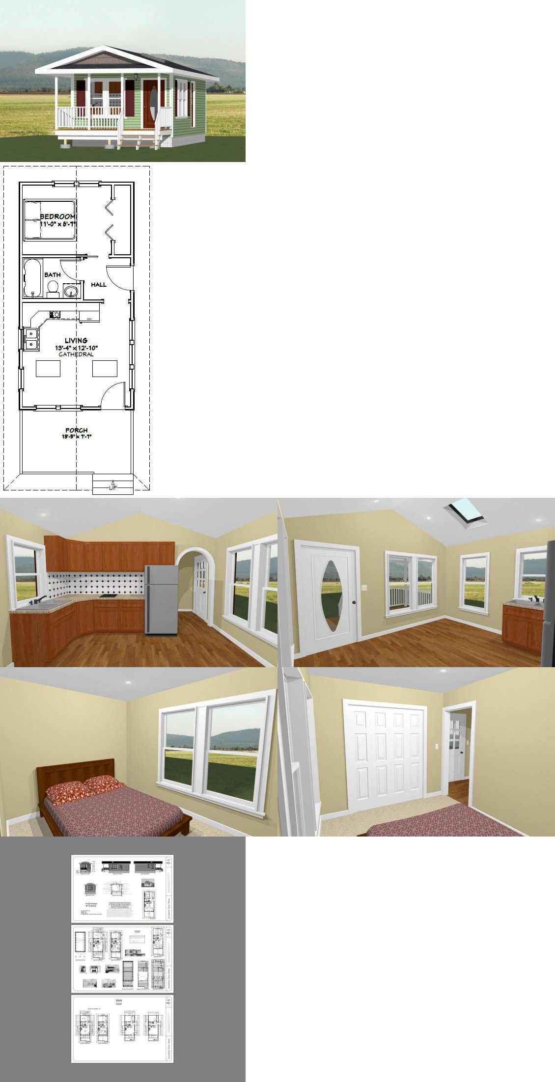 Building plans and blueprints  tiny house sq ft also rh pinterest