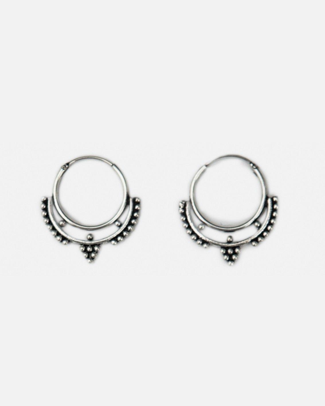 Piercing jewellery names  Fashionology  Sterling Silver Vee Hoop Earrings mm  E