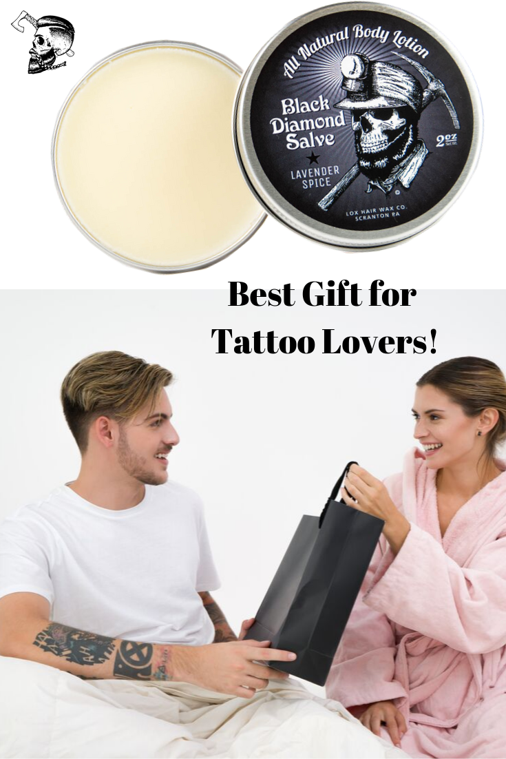 Black Diamond Salve All Natural Body Lotion & Tattoo