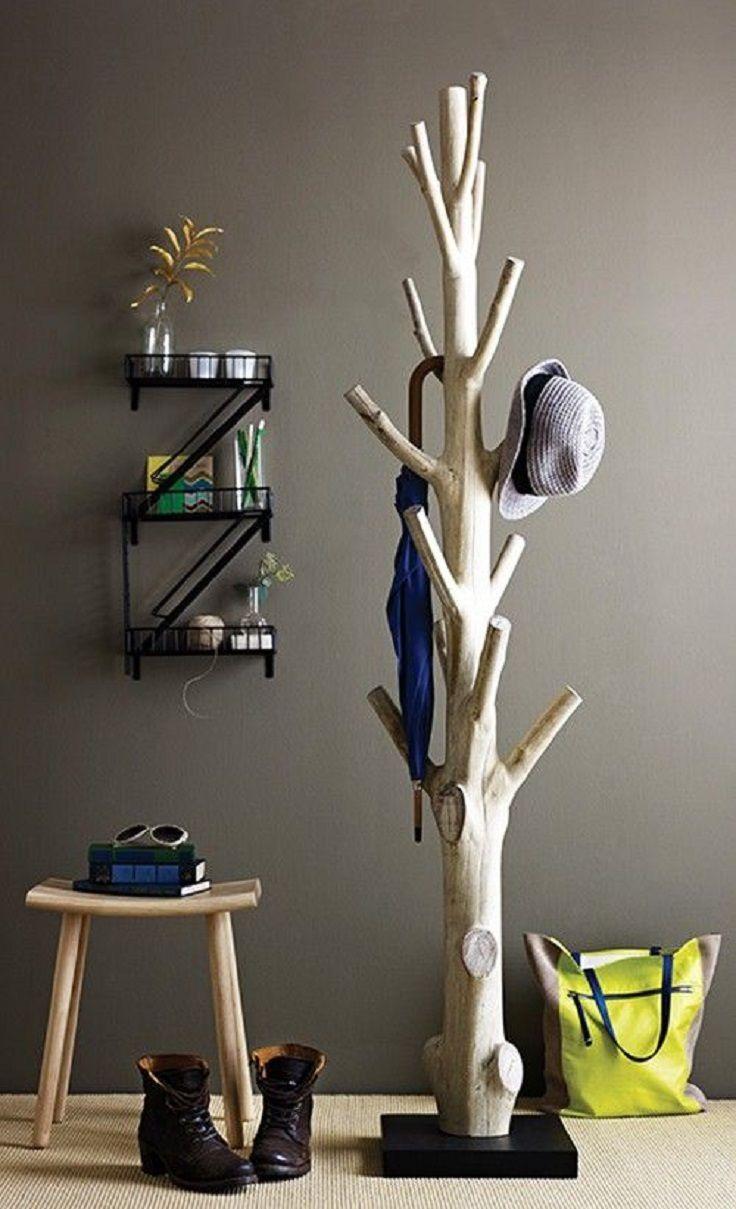 Branch Garderobe 15 Praktische Diy Holzbearbeitung Ideen Fur