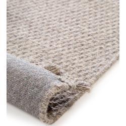 Photo of benuta Naturals Wollteppichläufer für Halle Celia hellgrau 80×300 cm – Naturfaserteppich aus Wolle