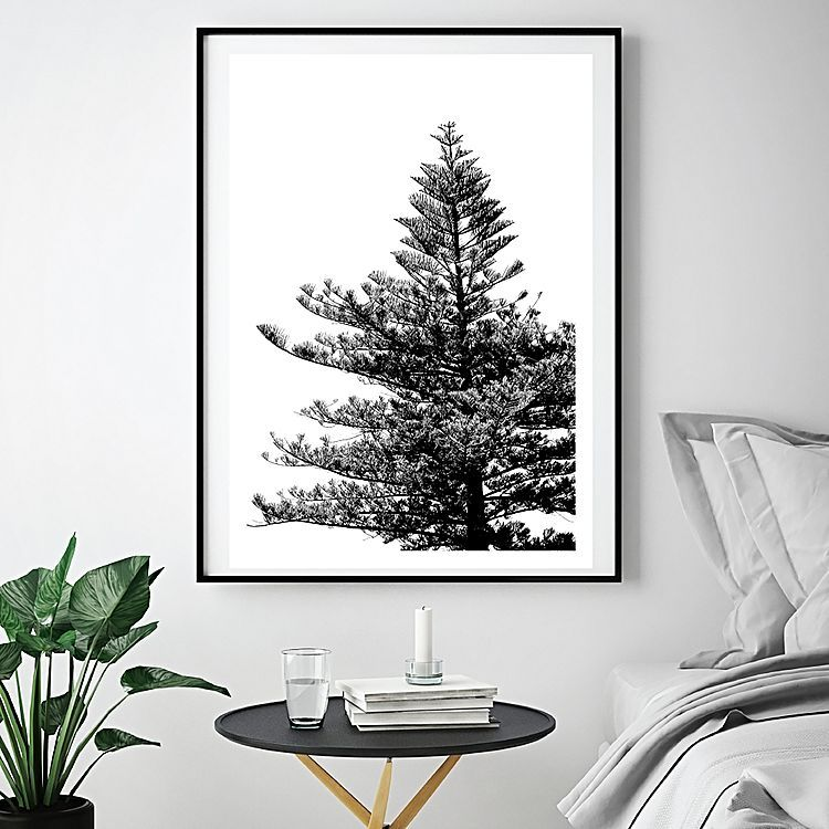 Zanui wall art the lone pine art print