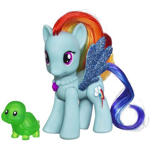 My Little Pony Crystal Motion Rainbow Dash Figure Vehicles