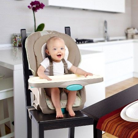 Ingenuity Trio 3 In 1 Deluxe High Chair Sahara Burst Toddler