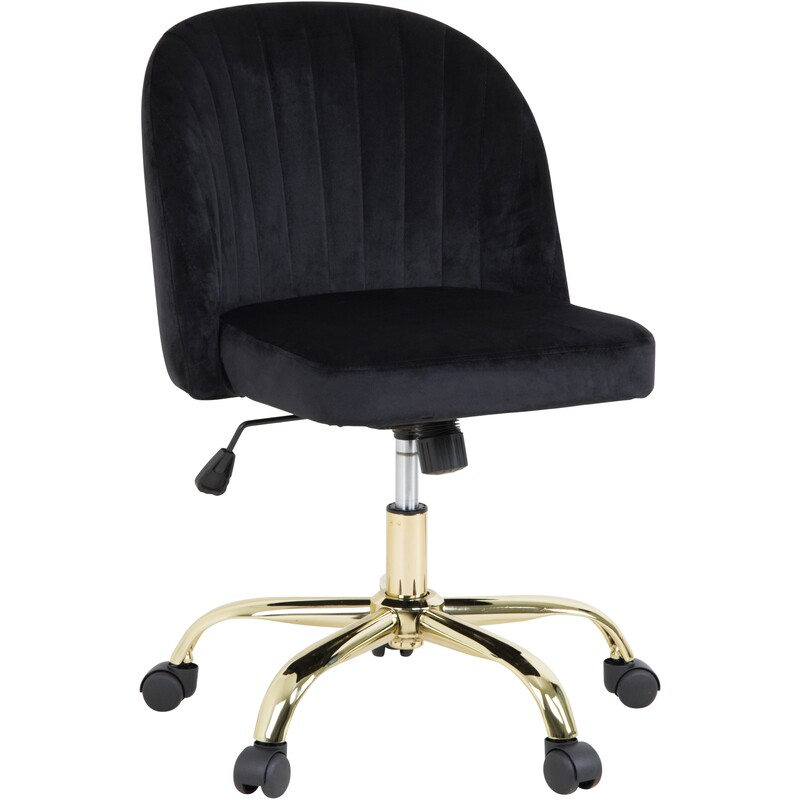 Home Office Stationery Home Big W In 2020 Black Office Chair Velvet Office Chair Office Chair