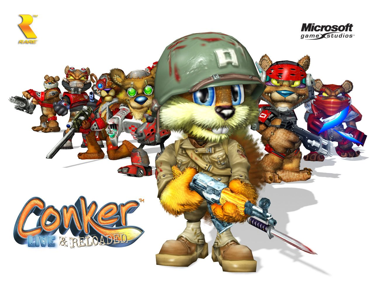 Conker Live Reloaded Wallpaper Conkers Conker Live And