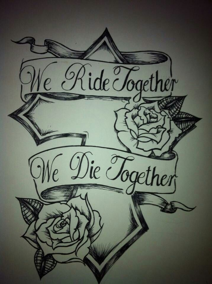 Fast And Furious Ride Or Die Family Tattoos Tattoos Ride Or
