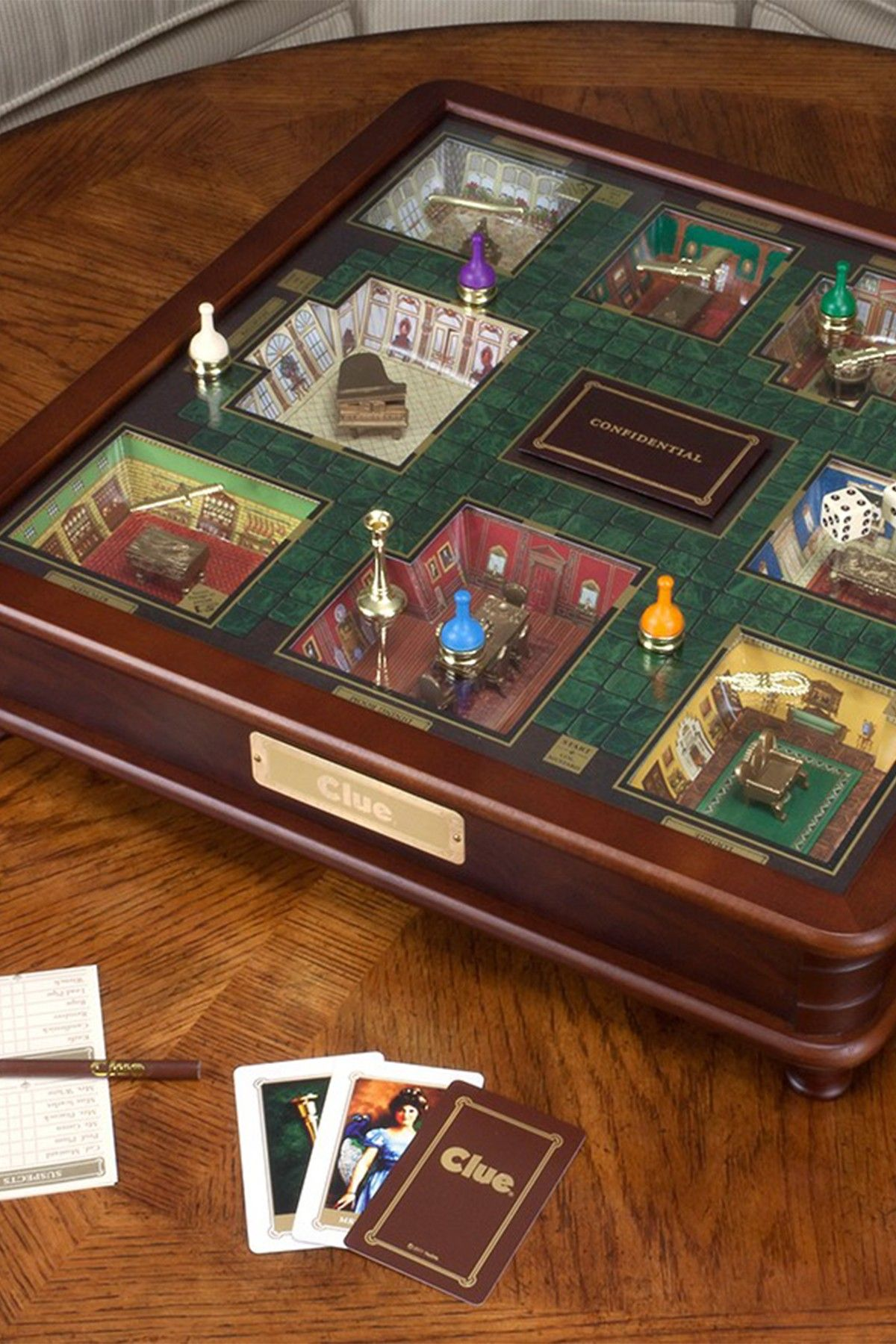 Game Night 3 Foot Luxury Edition Clue | Game night, Clue ...