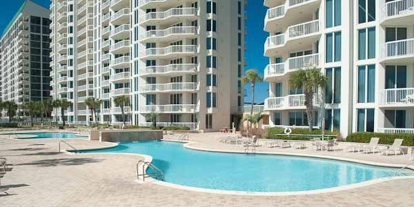 The Silver Beach Towers Inium Pool On In Destin Fl