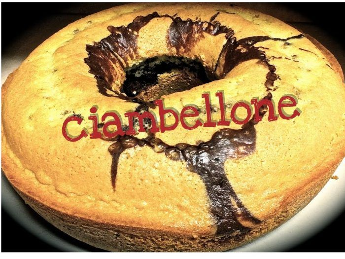 Ciambellone Senza Burro E Latte.Pin Su Cucina