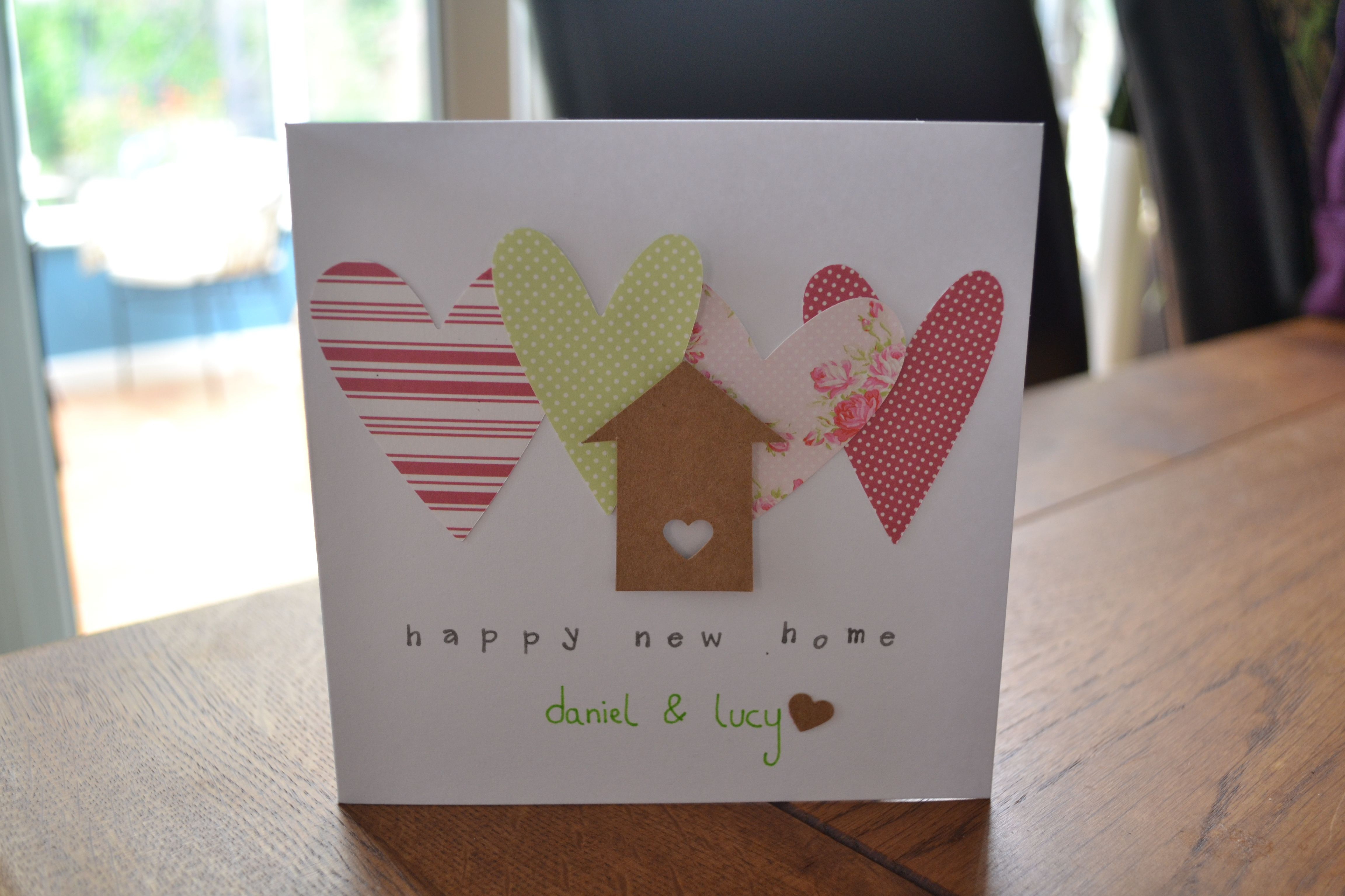 Happy New Home Card Card Making Ideas Easy New Home Cards Creative Cards