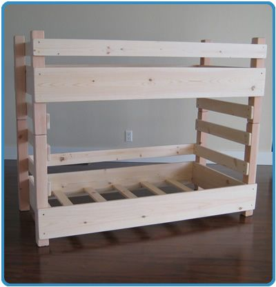 Kids Toddler Bunk Beds Regular Fits A Crib Size Mattress Extended Fits Ikea S Extended Crib Size Mattress Toddler Bunk Beds Diy Bunk Bed Bunk Bed Plans