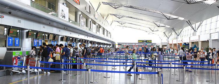 Check-in tại Sân bay Đà Nẵng