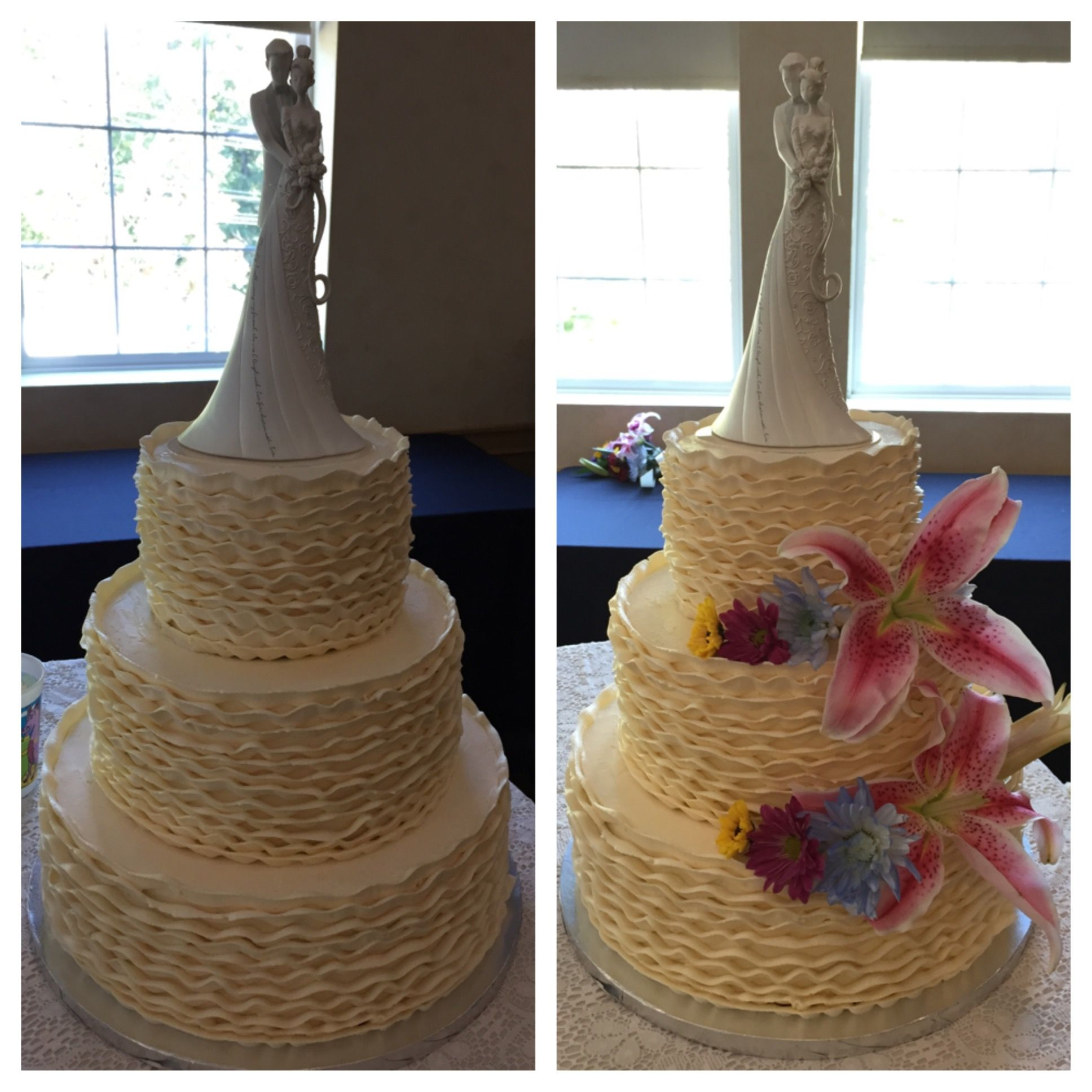 Before Amp After Flowers 9 27 14 Custom Cakes Cake Desserts