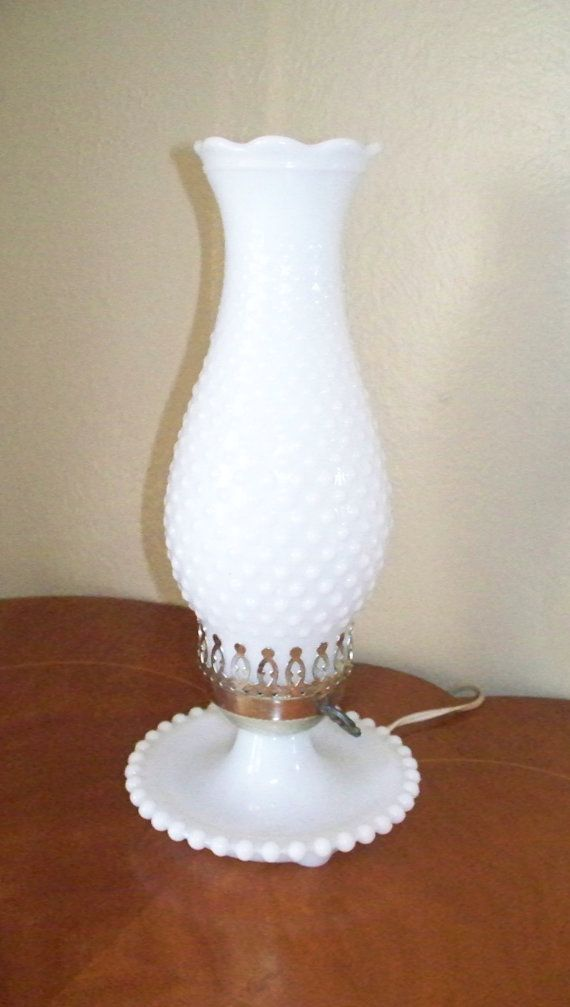 Vintage Milk Glass Lamps Working Condition With New Lamp Shades Very Nice Addition To Your Decor Milk Glass Decor Milk Glass Lamp Milk Glass
