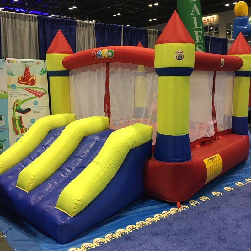 yard home use mini inflatable bouncers kids bouncy castle outdoor rh pinterest com