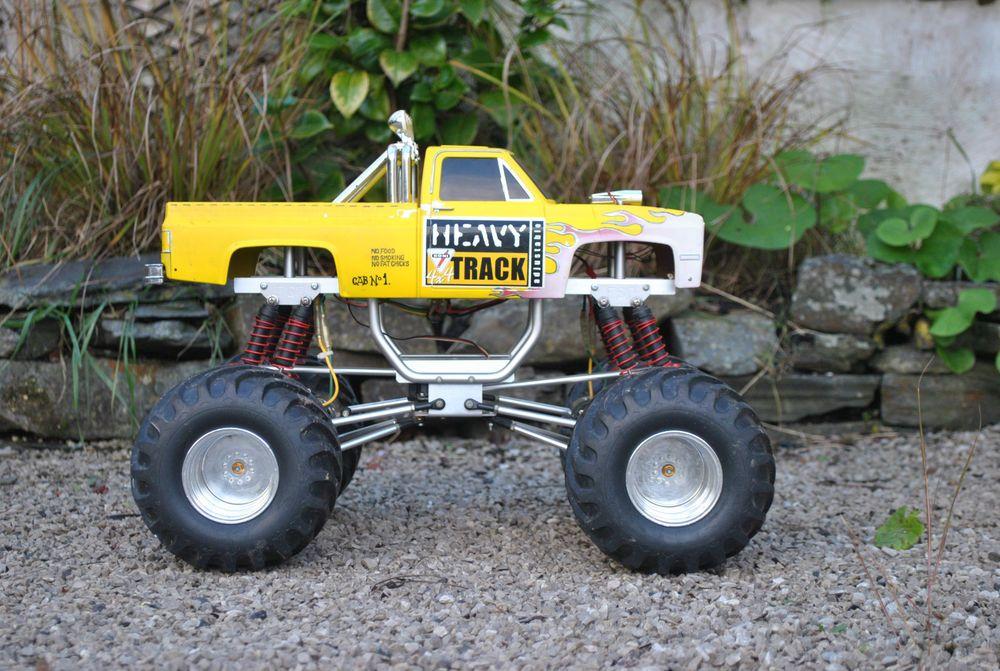 Tamiya Clodbuster Clodzilla Vintage Rare Rc Trucks Rc Monster Truck Monster Trucks
