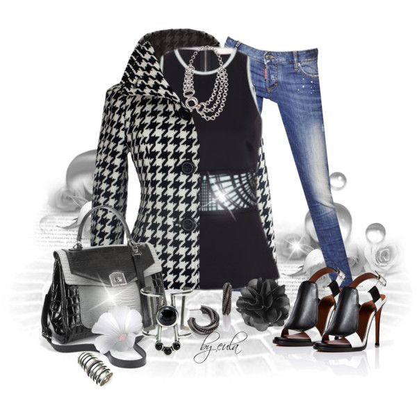 """""""Black and Blue Jeans Contest"""" by eula-eldridge-tolliver on Polyvore"""