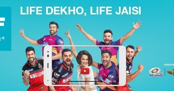 Reliance Jio supported LYF Phone Models