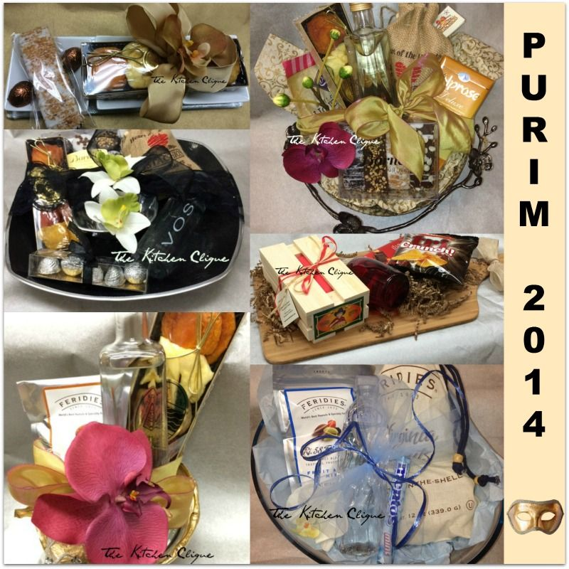 More Shalach Manos Gift Packages At The Kitchen Clique.