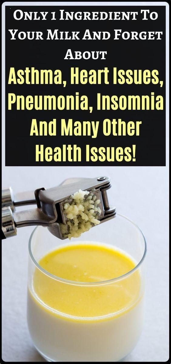 Geben Sie dies einfach in Ihre Milch und vergessen Sie Asthma, Gesundheitsprobleme und mehr …!   – Fitness
