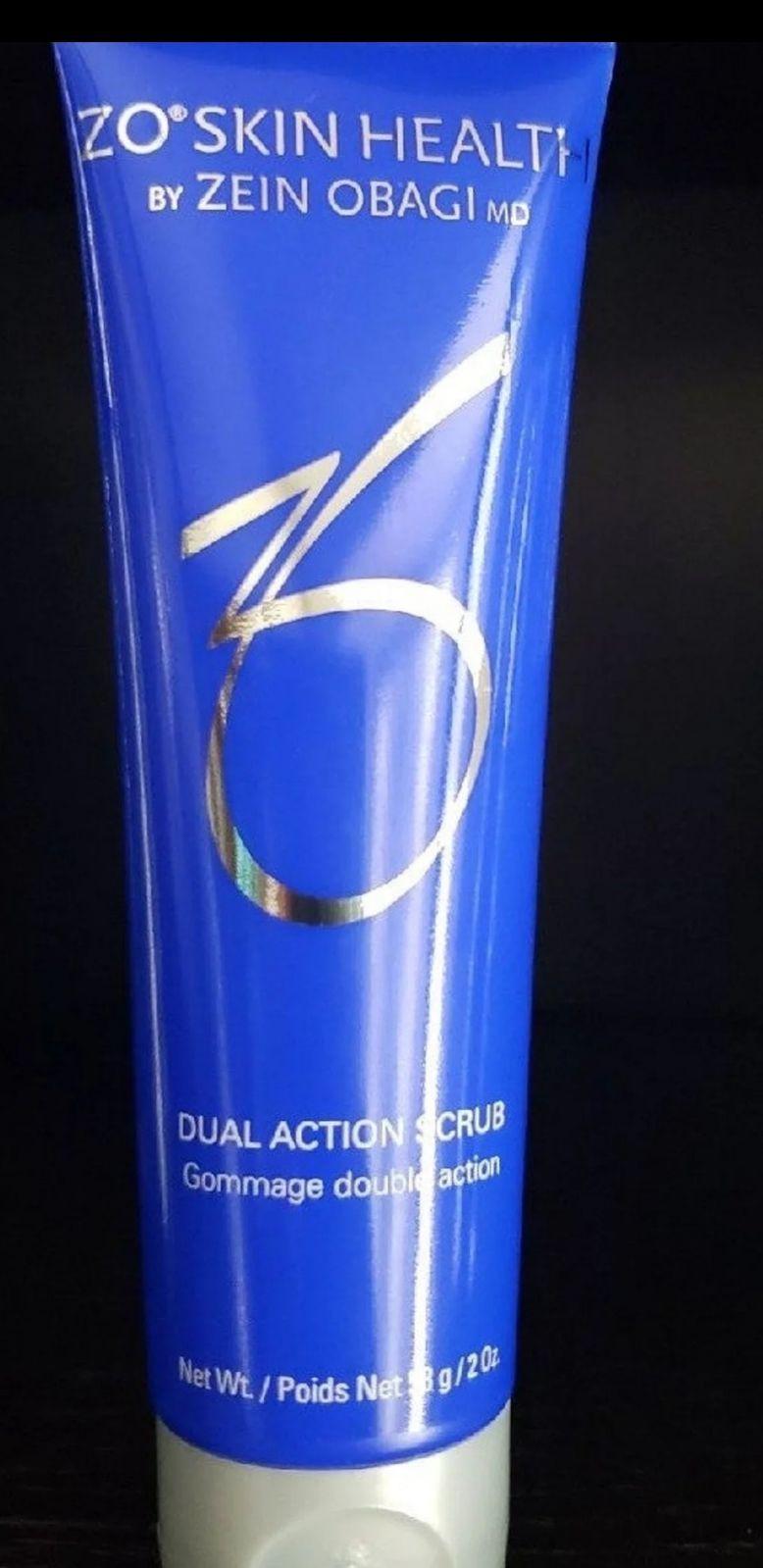Zo skin health dual action scrub 2oz New without box