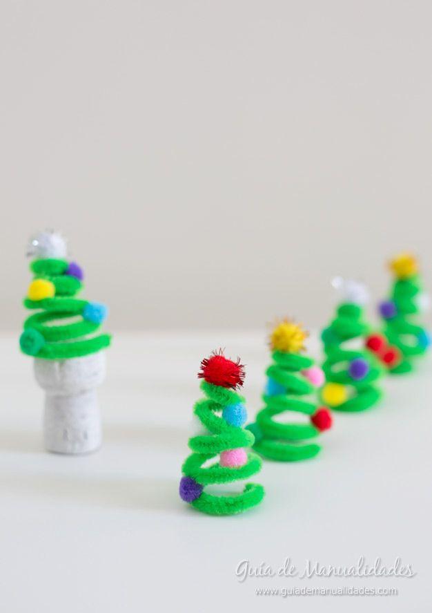 Adornos Faciles Con Limpiapipas Impresionante Pinterest - Manualidades-faciles-navidad-nios