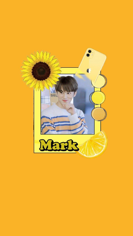 Mark Yellow Wallpaper