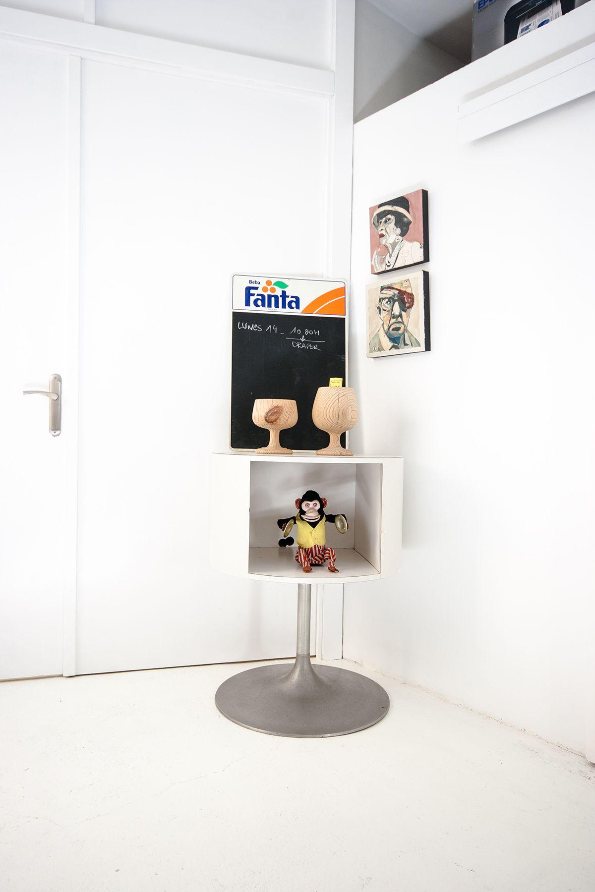 Teta & teta -Lo kitsch se mezcla con la publicidad en rincones inspiradores.