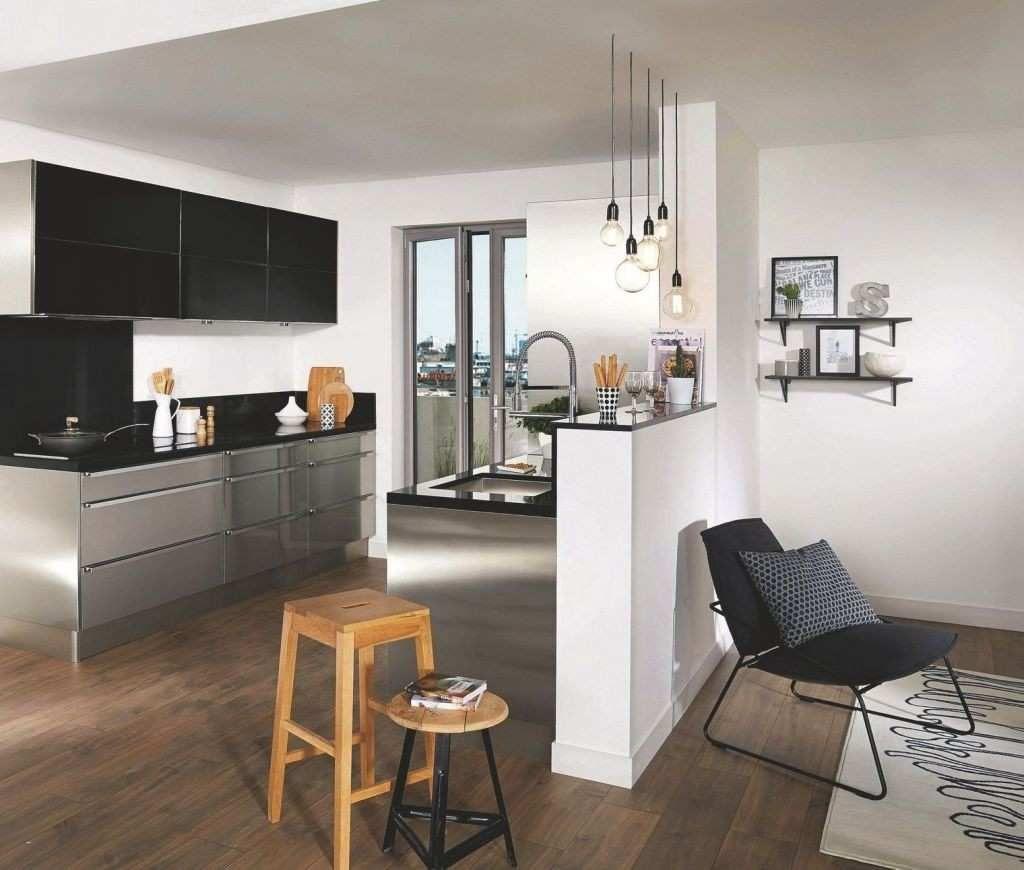 Salon 16M16 Idee Deco Bar Cuisine Plan Cuisine Semi Ouverte Salle