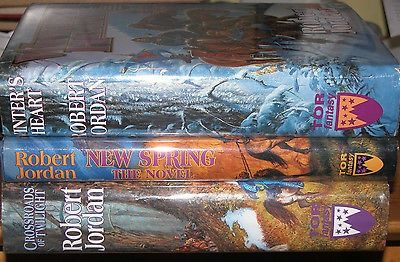 awesome Crossroads Twilight New Spring Winters Heart Robert Jordan Wheel Time 3x HC lot - For Sale View more at http://shipperscentral.com/wp/product/crossroads-twilight-new-spring-winters-heart-robert-jordan-wheel-time-3x-hc-lot-for-sale/