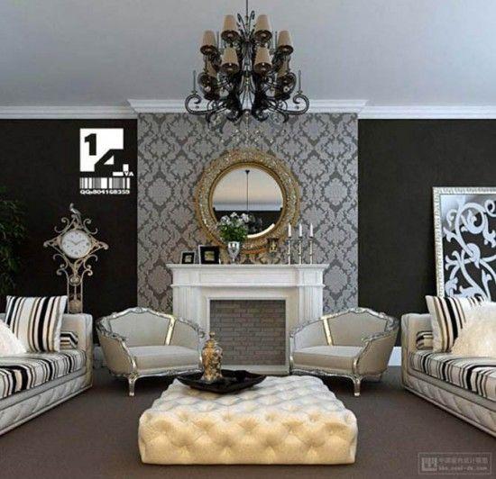 39 Besten Farrow Ball Tapeten Bilder Auf Pinterest: Best 25+ Wallpaper Fireplace Ideas On Pinterest