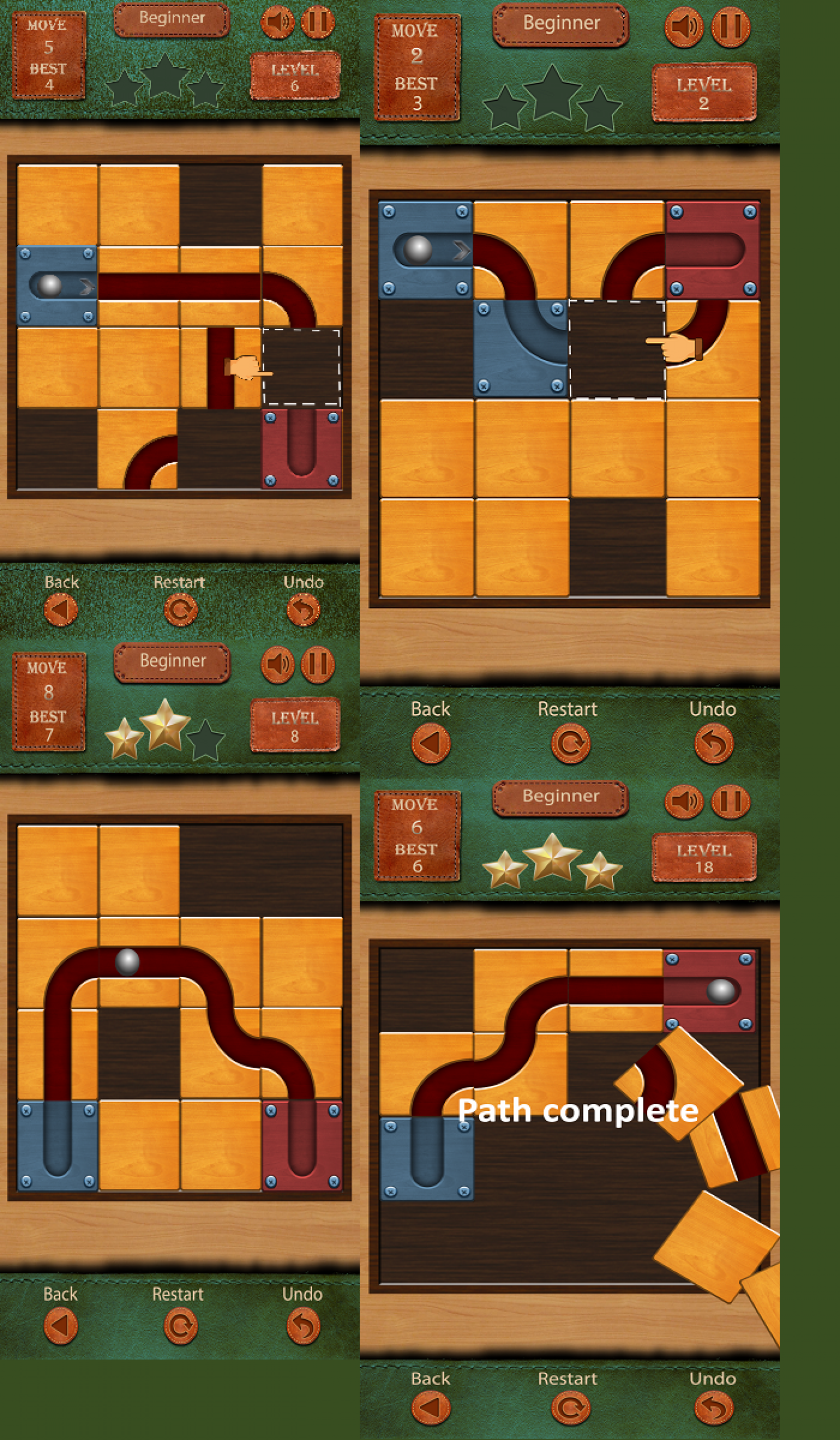 Rock the Ball Slide Unblocked Puzzle Game Infographic