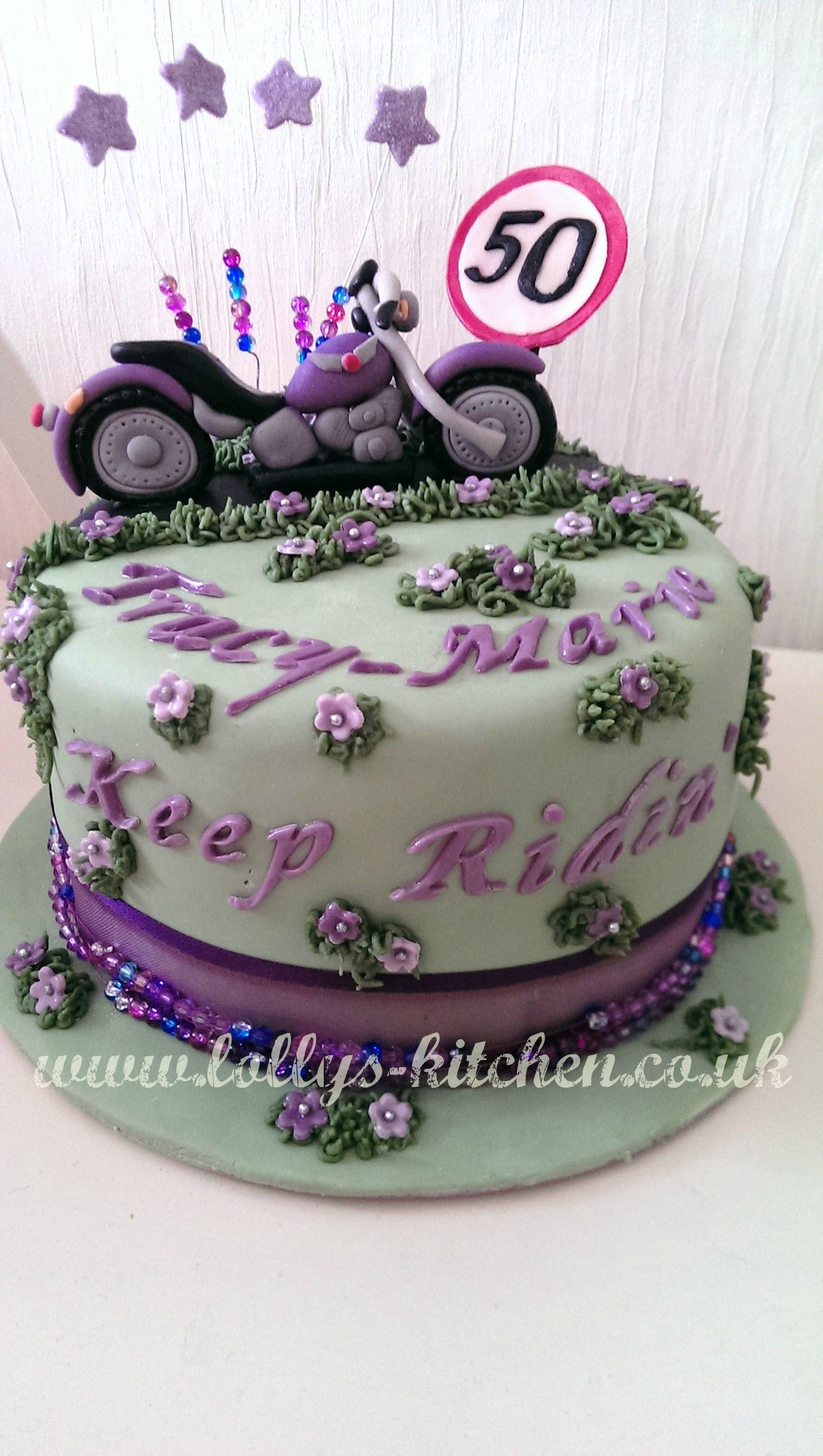Purple Harley Davidson Cake My Purple Haze Pinterest