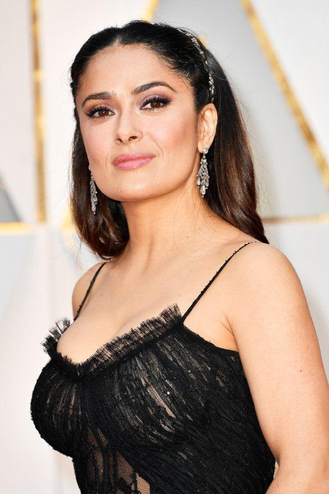 2017 Oscars Red Carpet Photos Salma Hayek Photos Salma Hayek Pictures Salma Hayek